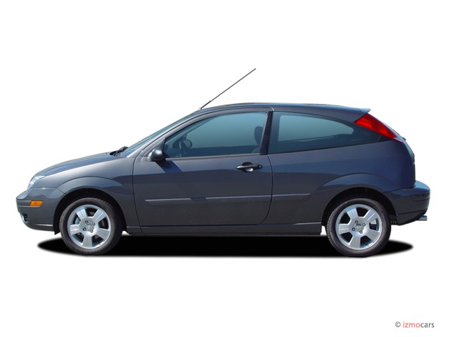 Image 2005 ford focus 3dr coupe zx3 ses side exterior