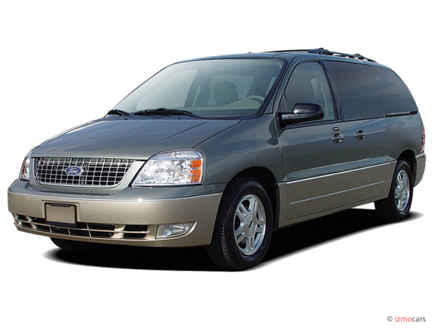 Angular Front Exterior View 2005 Ford Freestar 4 door Limited