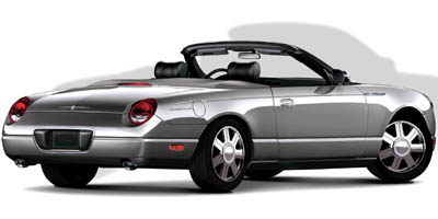 new and used ford thunderbird prices photos reviews specs the car connection. Black Bedroom Furniture Sets. Home Design Ideas