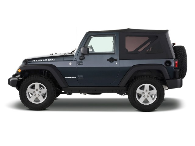 image 2009 jeep wrangler 4wd 2 door rubicon side exterior. Black Bedroom Furniture Sets. Home Design Ideas