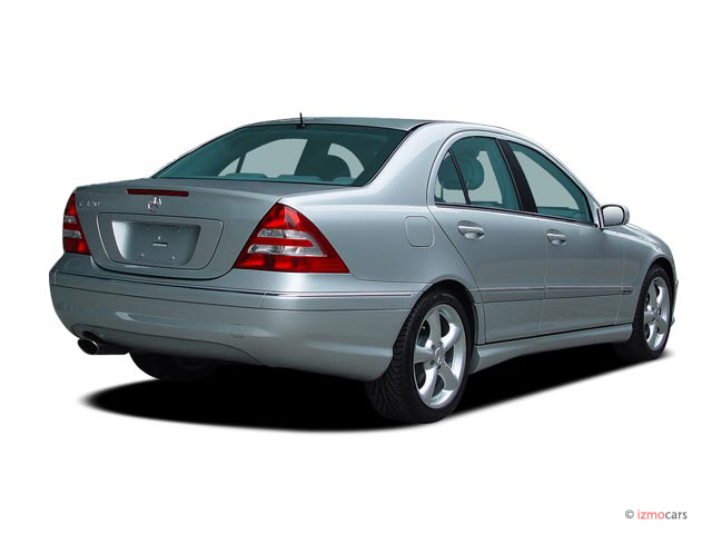 Image 2005 mercedes benz c class 4 door sedan 3 2l for 2005 mercedes benz c class