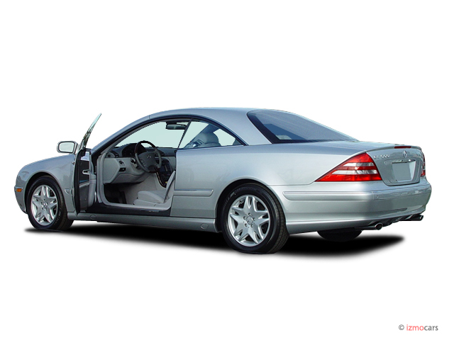 Image 2005 mercedes benz cl class 2 door coupe 5 0l open for Mercedes benz coupe 2005