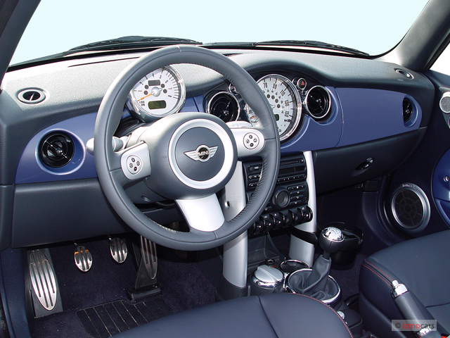 2005 Mini Cooper Convertible S Interior