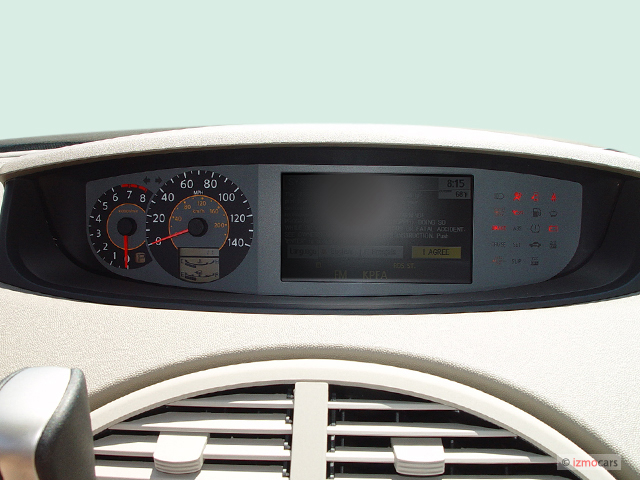 image 2005 nissan quest 4 door van sl instrument cluster. Black Bedroom Furniture Sets. Home Design Ideas