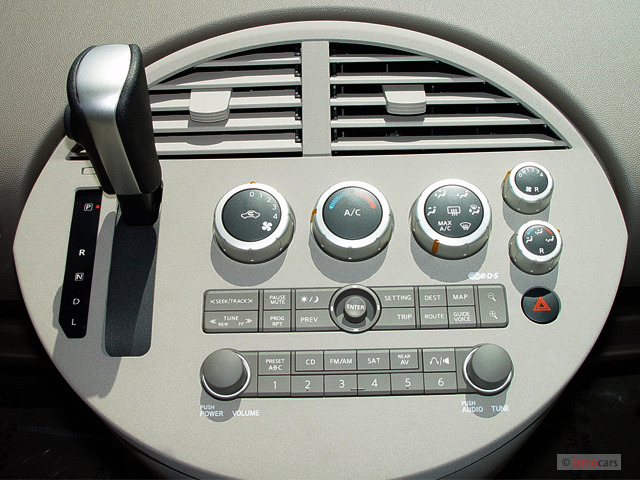 image 2005 nissan quest 4 door van sl instrument panel. Black Bedroom Furniture Sets. Home Design Ideas