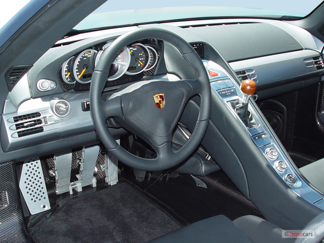 2005 Porsche 911 Carrera 2-door GT3 Coupe Dashboard #8112356