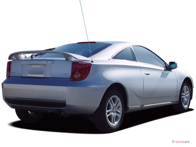 2005 toyota celica 3dr lb gt manual natl angular rear exterior view. Black Bedroom Furniture Sets. Home Design Ideas