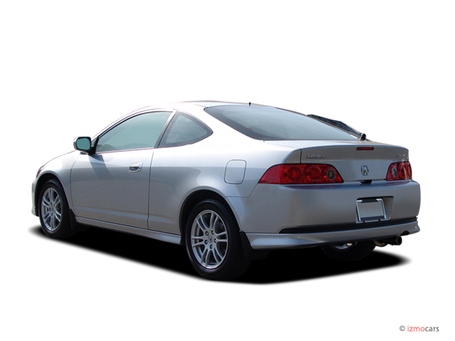 Image 2006 Acura Rsx 2 Door Coupe At Leather Angular Rear