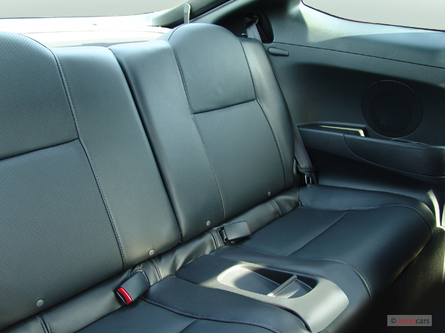 Image: 2006 Acura RSX 2-door Coupe AT Leather Rear Seats