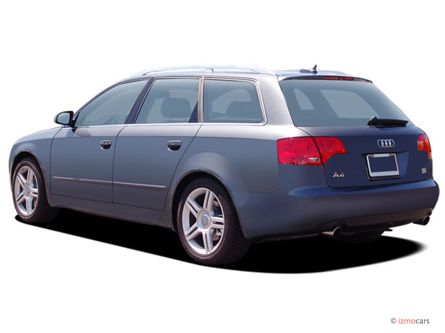 2006 audi a4 5dr wagon 3 2l avant quattro auto angular rear exterior view. Black Bedroom Furniture Sets. Home Design Ideas