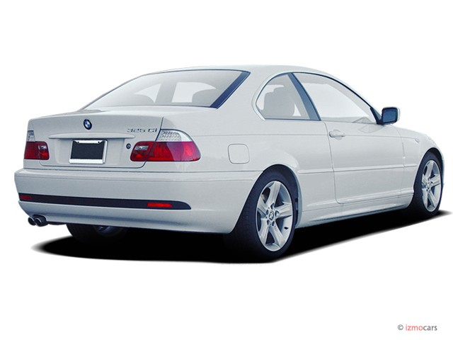 Image 2006 Bmw 3 Series 325ci 2 Door Coupe Angular Rear