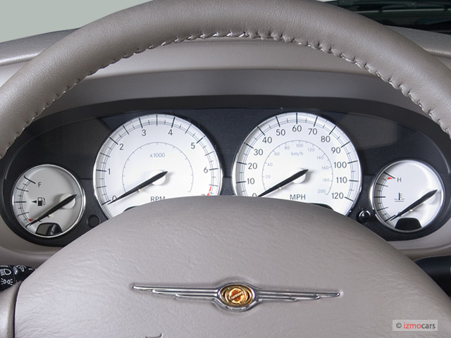 2006 Chrysler Sebring Convertible 2 Door Limited Instrument Cluster ...