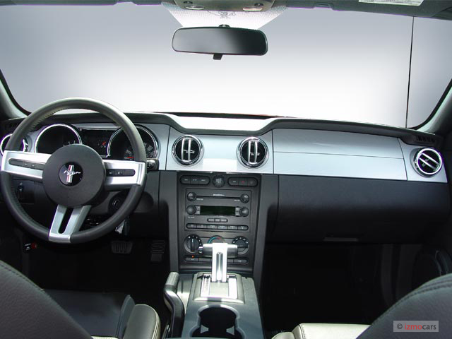 Ford Explorer Sport Lease Image: 2006 Ford Mustang 2-door Coupe GT Premium Dashboard, size: 640 ...