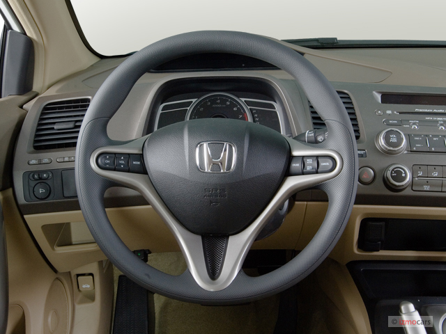 2006 honda civic coupe ex at steering wheel 9723008. Black Bedroom Furniture Sets. Home Design Ideas