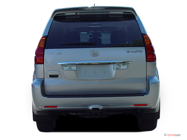 image 2006 lexus gx 470 4 door suv 4wd rear exterior view size 640 x 480 type gif posted. Black Bedroom Furniture Sets. Home Design Ideas