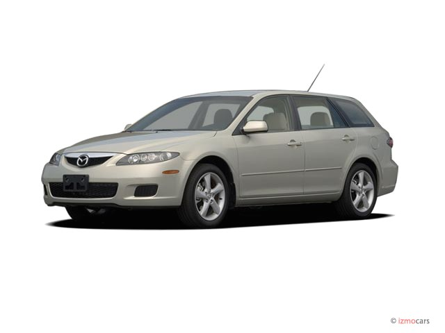 2006 Mazda MAZDA6 5dr Wagon s Manual Angular Front Exterior View #9727976