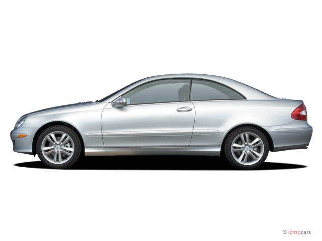Image 2006 mercedes benz clk class 2 door coupe 3 5l side for 2006 mercedes benz r350 recalls
