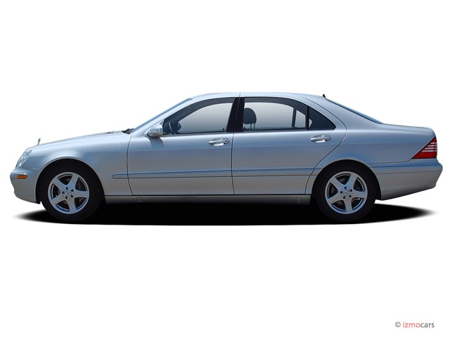 Image 2006 mercedes benz s class 4 door sedan 5 5l side for 2006 mercedes benz s550