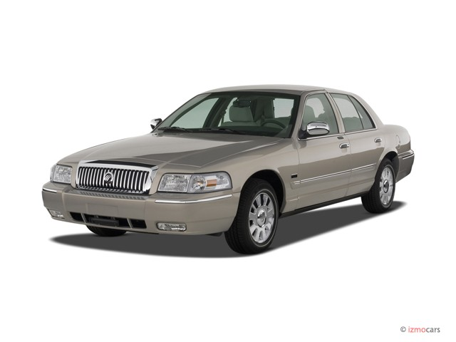 Image: 2007 Mercury Grand Marquis 4-door Sedan LS Angular ...