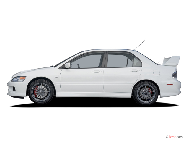 Image 2006 Mitsubishi Lancer 4 Door Sedan Evolution Mr Edition Manual Side Exterior View Size