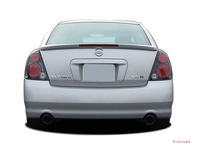 image 2006 nissan altima 4 door sedan 3 5 se r auto rear. Black Bedroom Furniture Sets. Home Design Ideas