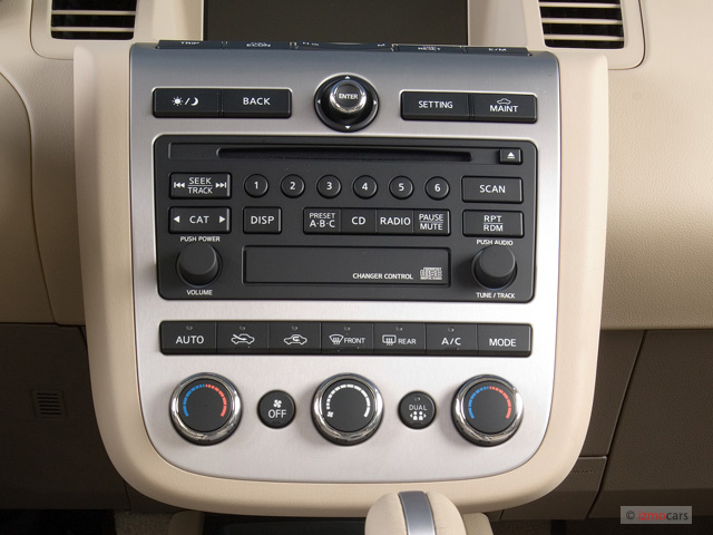 image 2006 nissan murano 4 door se v6 awd instrument. Black Bedroom Furniture Sets. Home Design Ideas