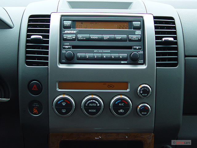 2006 nissan pathfinder le 4wd instrument panel. Black Bedroom Furniture Sets. Home Design Ideas