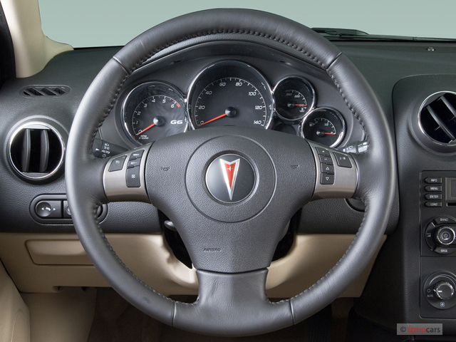 2006 pontiac g6 4 door sedan gtp steering wheel. Black Bedroom Furniture Sets. Home Design Ideas