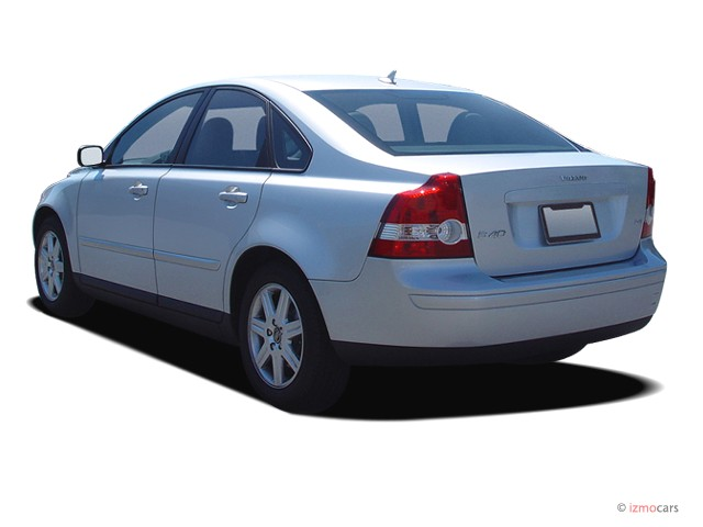 Image: 2006 Volvo S40 2.4L Auto Angular Rear Exterior View, size: 640 x 480, type: gif, posted ...