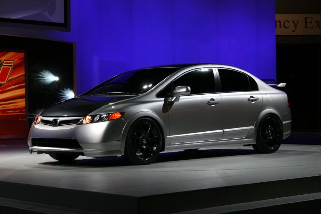 2006 Honda Civic Si Sedan concept, , Chicago Auto Show #9054130