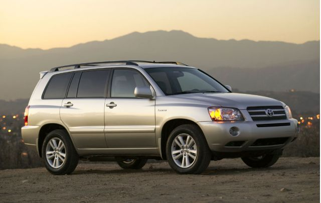 Toyota Kluger 2017 Review >> 2006-2007 Lexus RX 400h, Toyota Highlander Hybrids: Recall