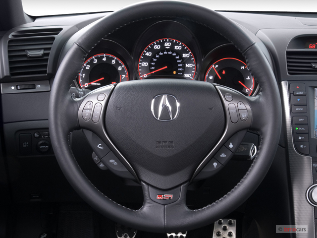 Acura TL 4-door Sedan MT Type-S Steering Wheel, size: 640 x 480, type ...