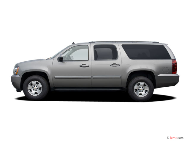 image 2007 chevrolet suburban 2wd 4 door 1500 lt side. Black Bedroom Furniture Sets. Home Design Ideas
