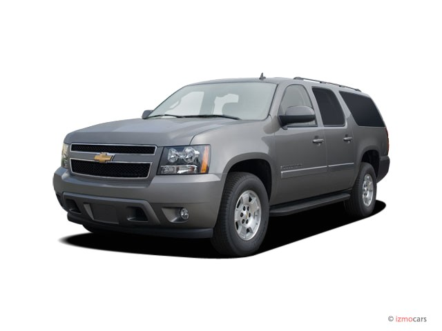 2007 chevrolet suburban 2wd 4 door 1500 lt angular front. Black Bedroom Furniture Sets. Home Design Ideas