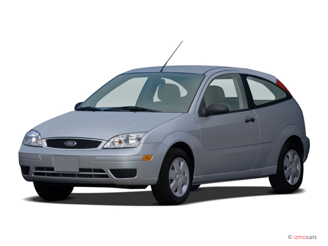 2007 Ford Focus 3dr Coupe Se Angular Front Exterior View
