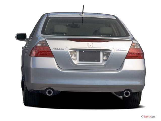 Image 2007 Honda Accord Hybrid 4 Door Sedan Rear Exterior View Size 640 X 480 Type Gif