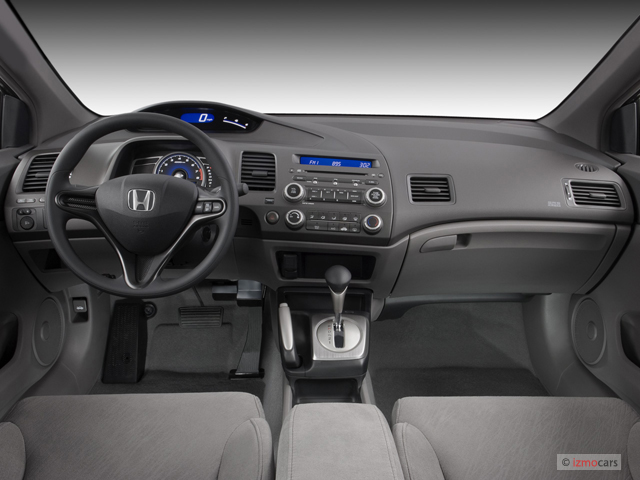 Image 2007 Honda Civic Coupe 2 Door At Lx Dashboard Size