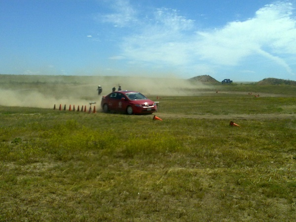 2007 Honda Civic Si Rally racing at Colorado Region event #7528406