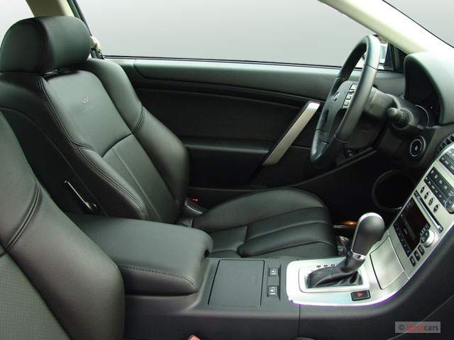 Front Seats - 2007 Infiniti G35 Coupe 2-door Auto