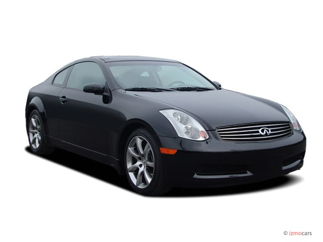 angular front exterior view 2007 infiniti g35 coupe 2. Black Bedroom Furniture Sets. Home Design Ideas