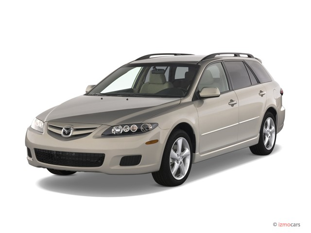 2007 mazda mazda6 5dr wagon auto s sport ve angular front exterior view. Black Bedroom Furniture Sets. Home Design Ideas