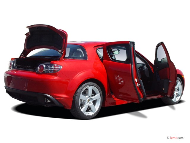 Image 2007 Mazda Rx 8 4 Door Coupe Manual Grand Touring Open Doors Size 640 X 480 Type Gif