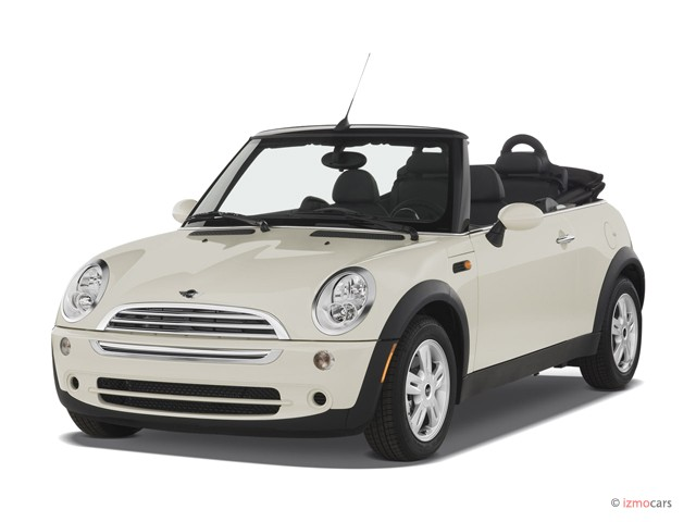 2007 MINI Cooper Convertible 2dr exterior front upper left