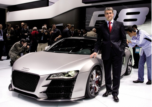 2008 Audi R8 V12 Tdi Concept. Video: Driving the Audi R8 V12