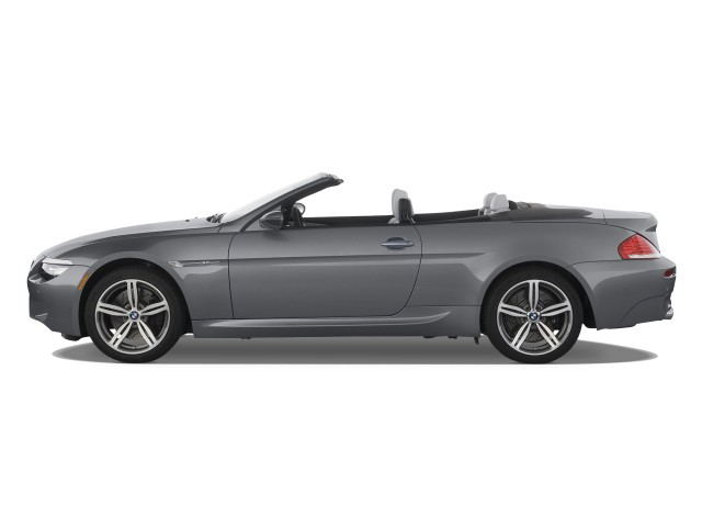 2008 BMW 6-Series 2-door Convertible M6 Side Exterior View #8479931