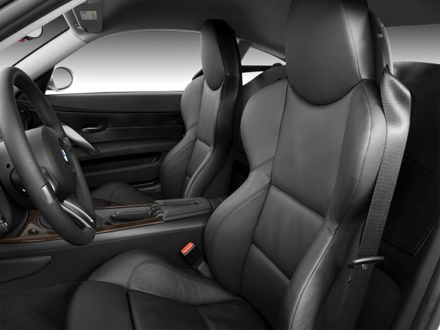 Image 2008 Bmw Z4 Series 2 Door Coupe 3 0si Front Seats