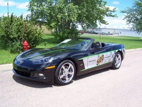 2008 Chevrolet Corvette Indianapolis Pace Car Edition #7536543