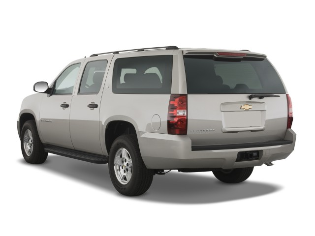 2008 Chevrolet Suburban 2WD 4-door 1500 LS Angular Rear Exterior View #9603748