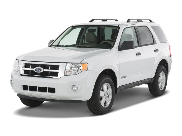 angular front exterior view 2008 ford escape fwd 4 door i4 auto xlt. Cars Review. Best American Auto & Cars Review