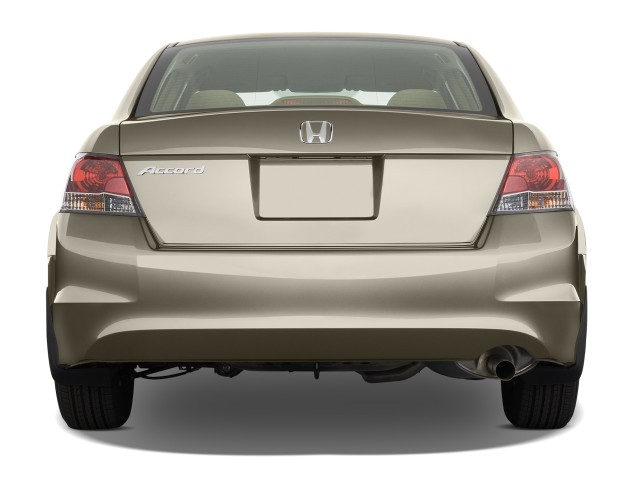 Image 2008 Honda Accord Sedan 4 Door I4 Auto Lx Rear